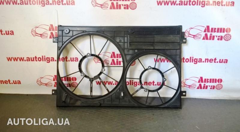 диффузор вентилятора охлаждения фольксваген пассат б6